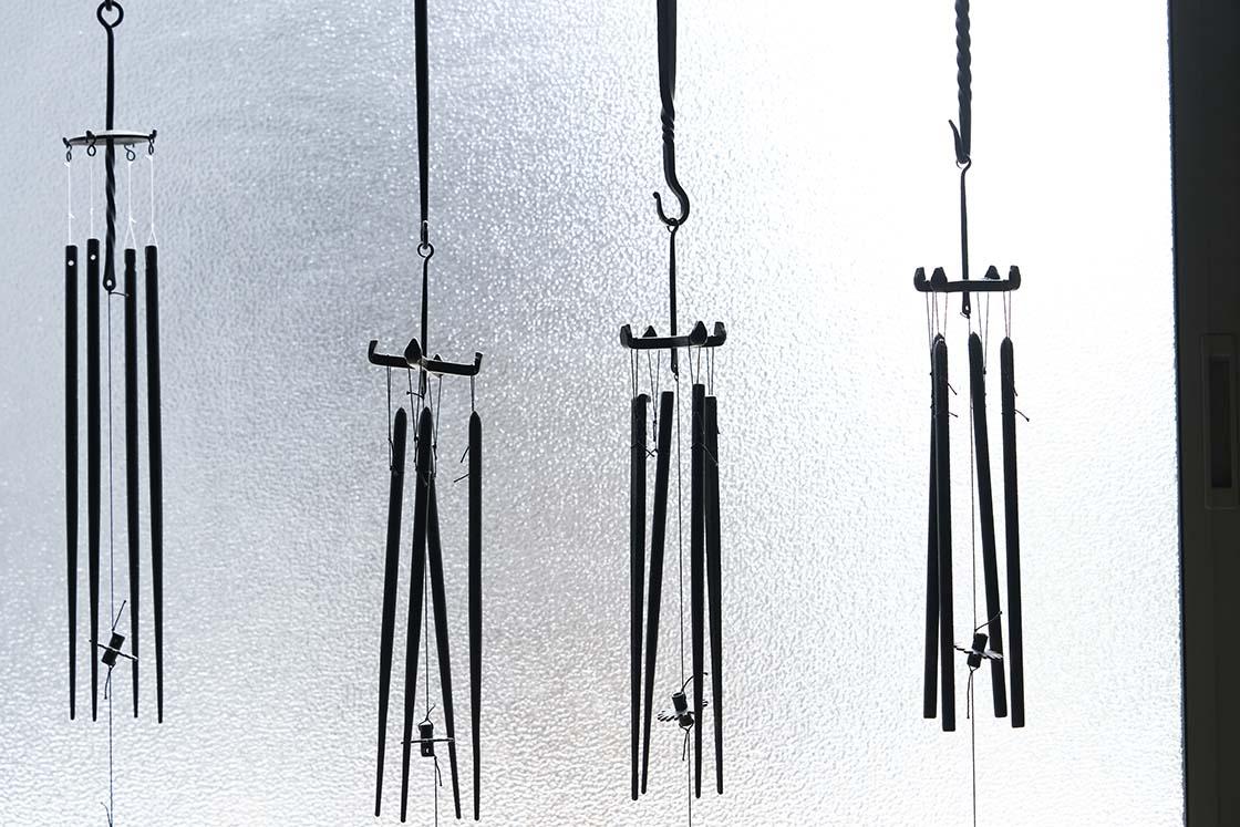 明珍本舗の火箸風鈴