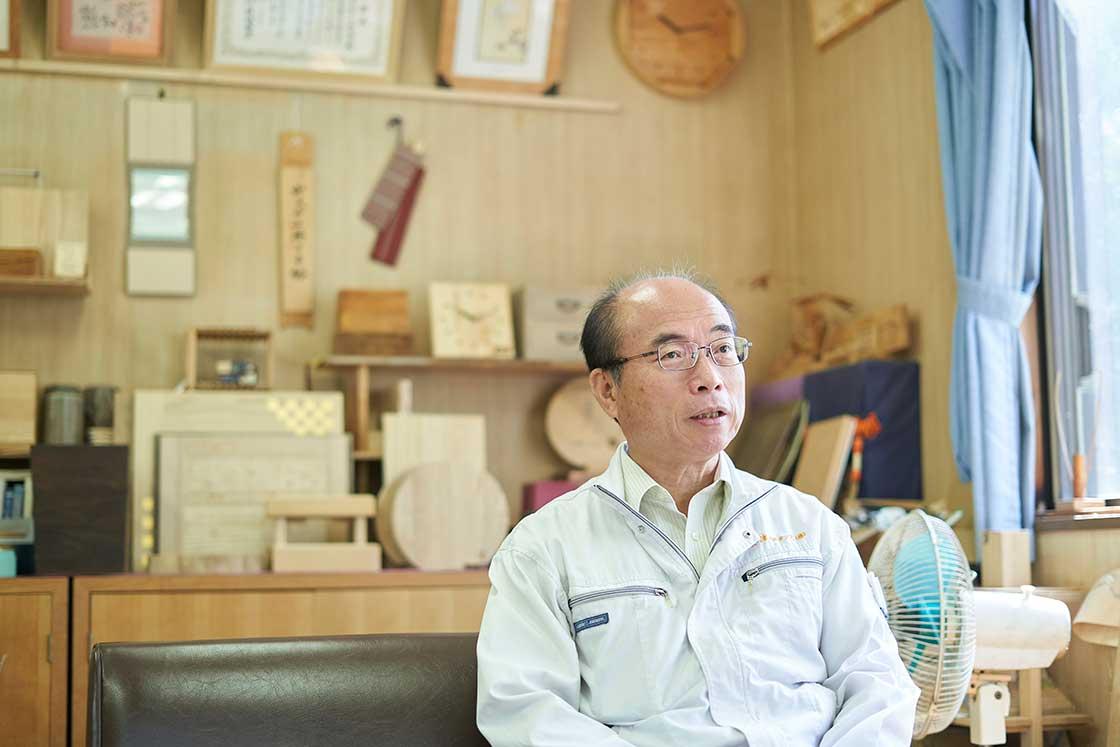 会津桐タンス 管理部長 板橋充是さん