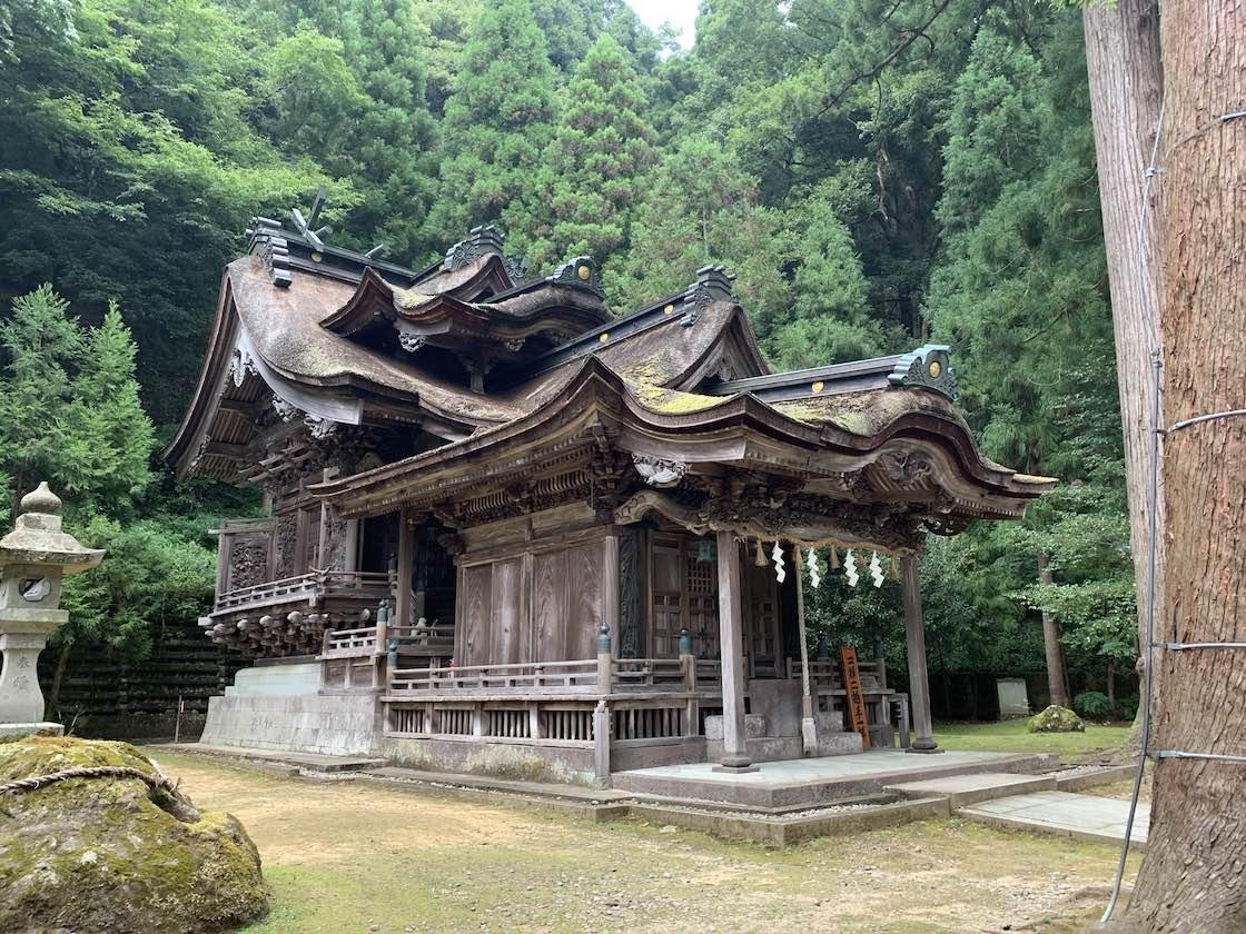 全国で唯一、紙の神様を祀る大瀧神社