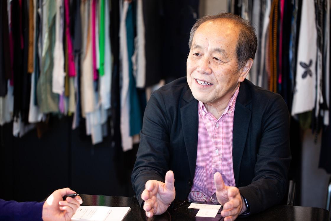 株式会社笠盛 代表取締役会長の笠原 康利さん