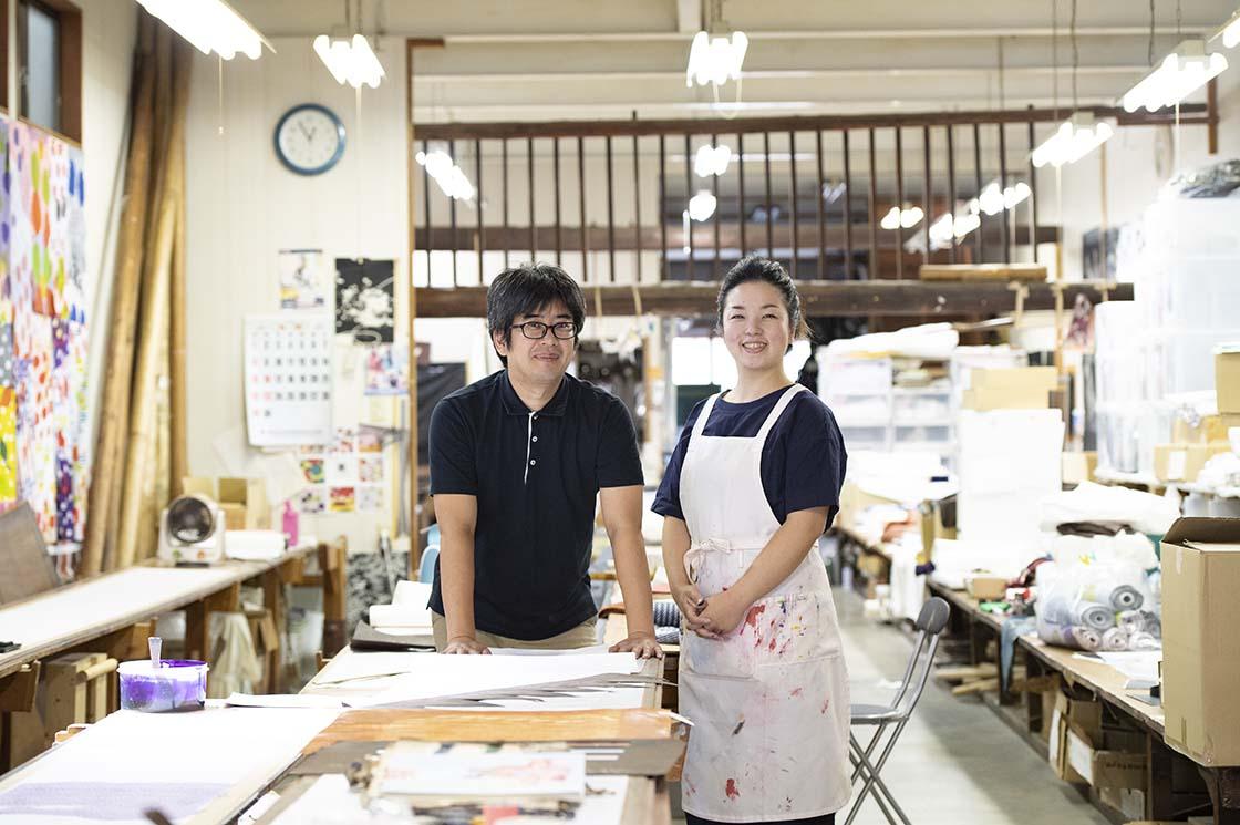 山元宏泰さんと山本桂子さん