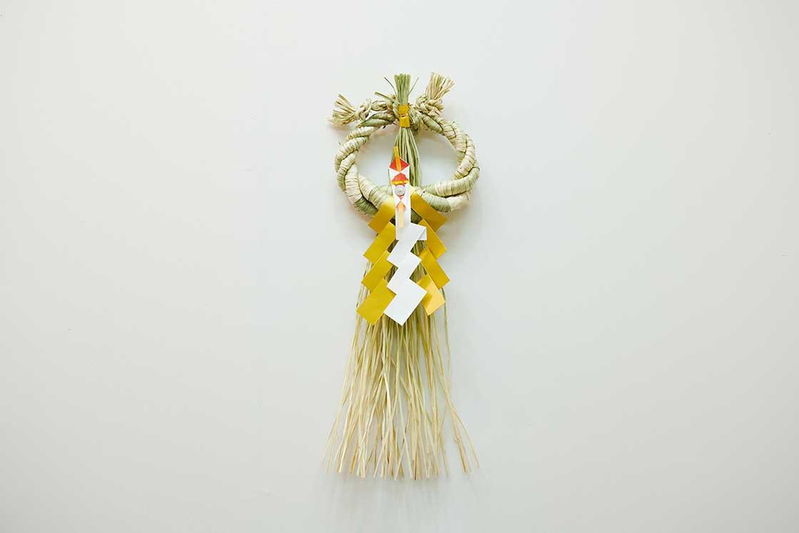 ・秋田県「宝珠型」のしめ飾り