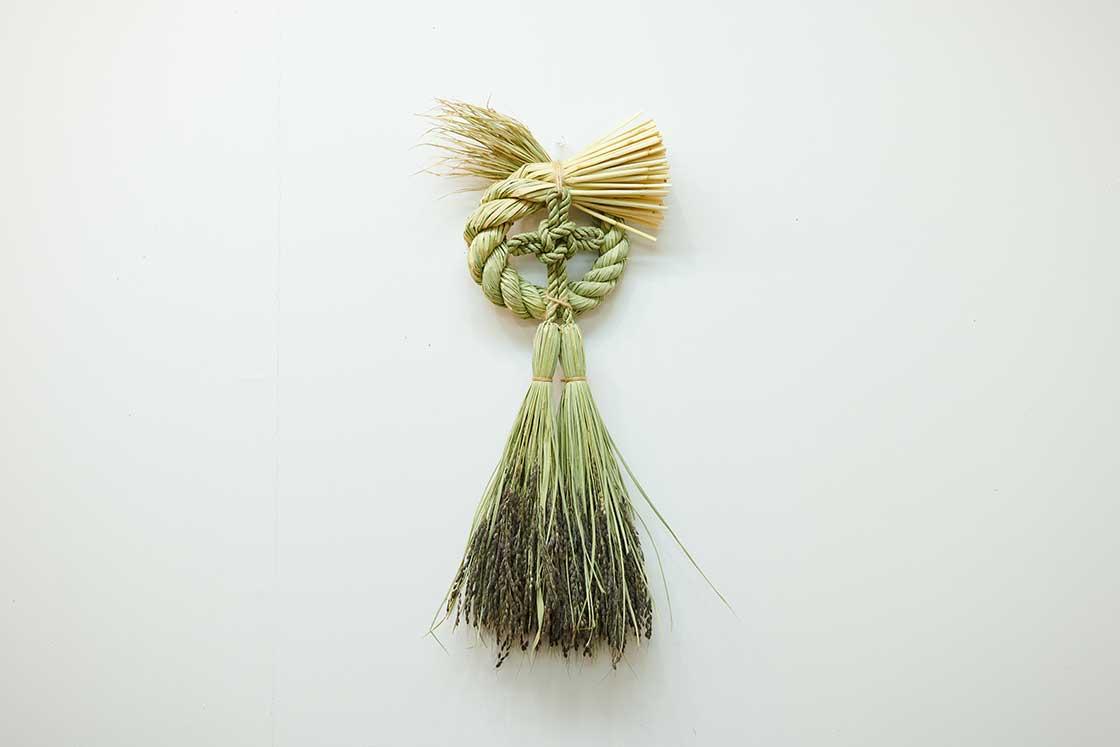 愛媛県西予市「宝結び」のしめ飾り