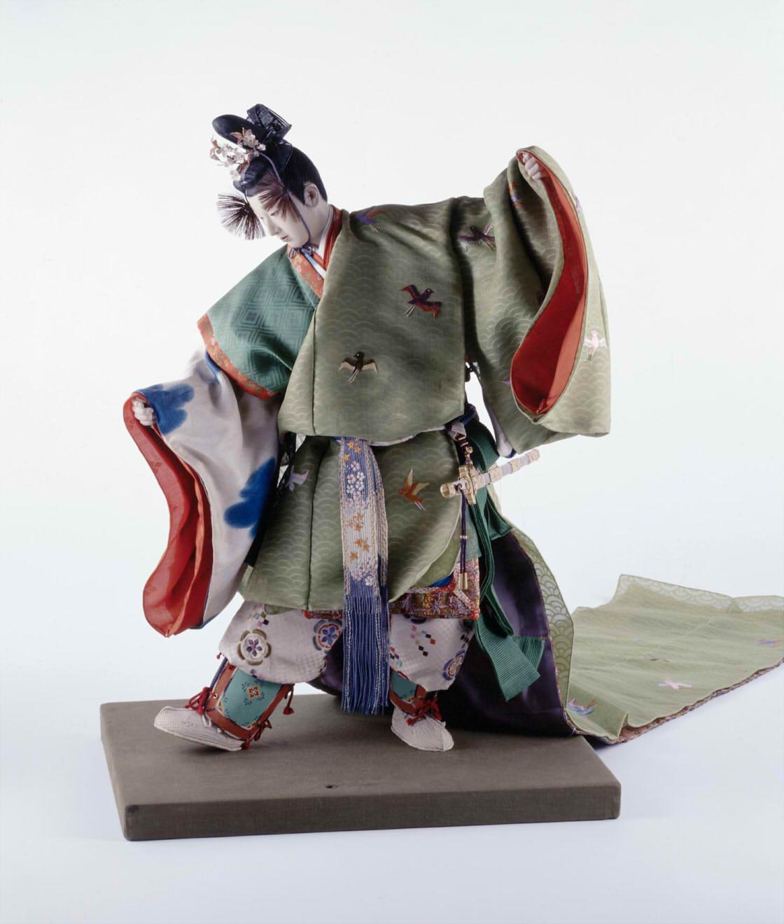 平田郷陽《桜梅の少将》1936年 東京国⽴近代美術館蔵