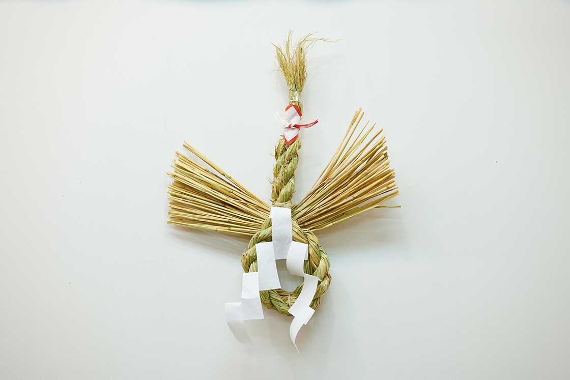 京都「鳩」のしめ飾り