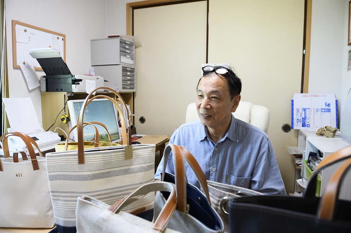 平成7年にkii工房を立ち上げた弘之さん