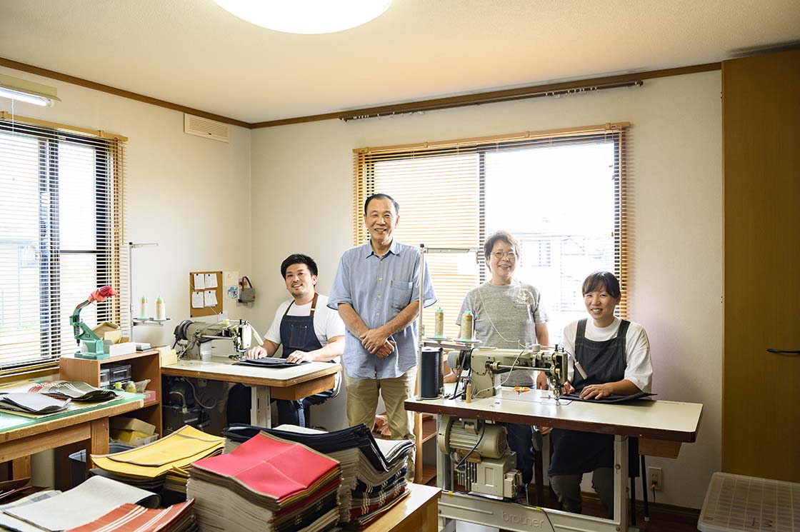 弘之さん、美恵子さん夫妻と娘夫妻