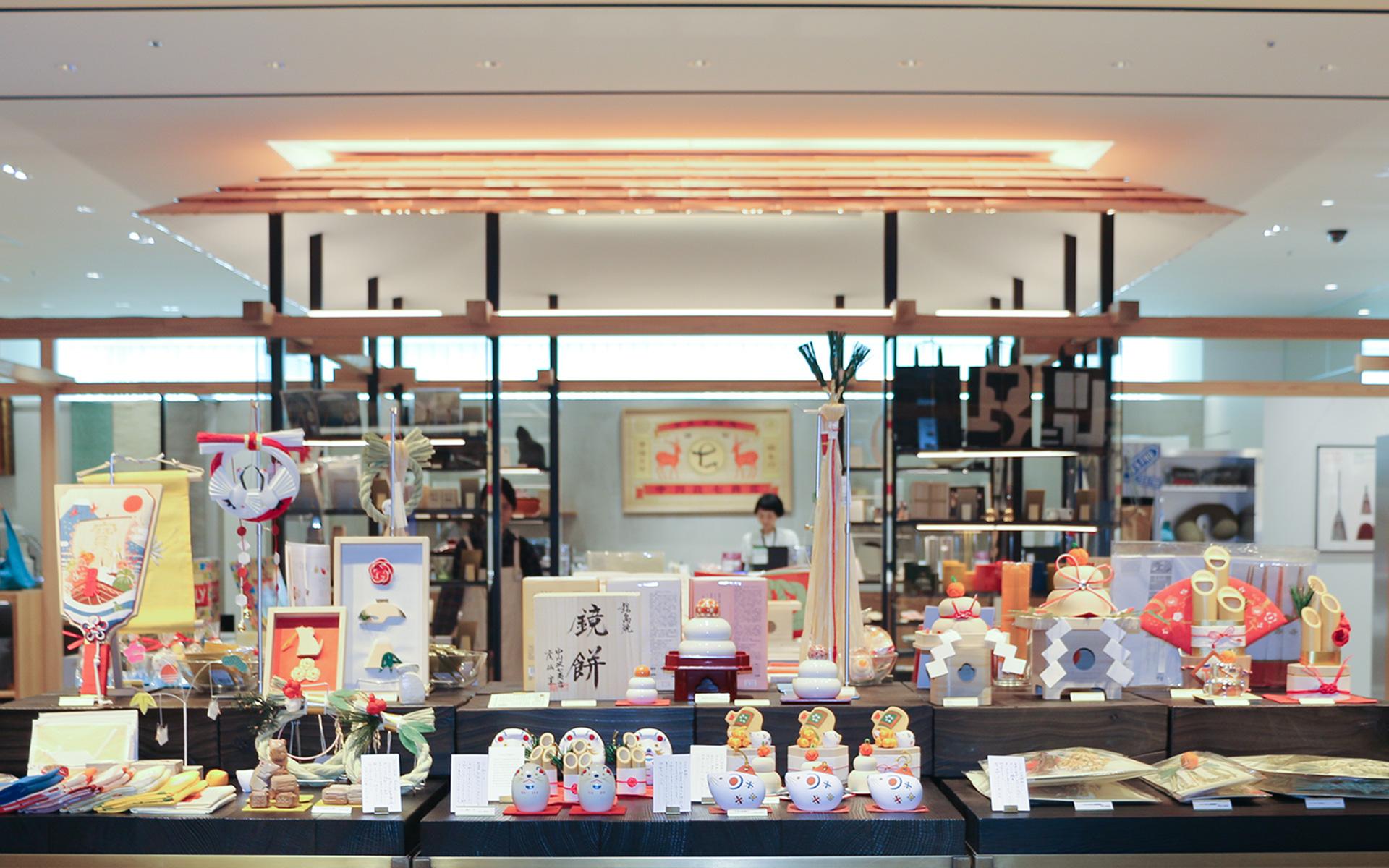 中川政七商店 渋谷店で見つける縁起のいいお正月飾り