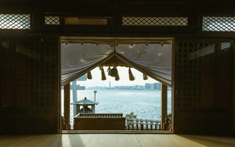 北九州の和布刈神社
