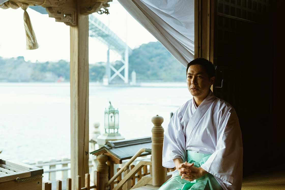北九州の和布刈神社の高瀬和信さん