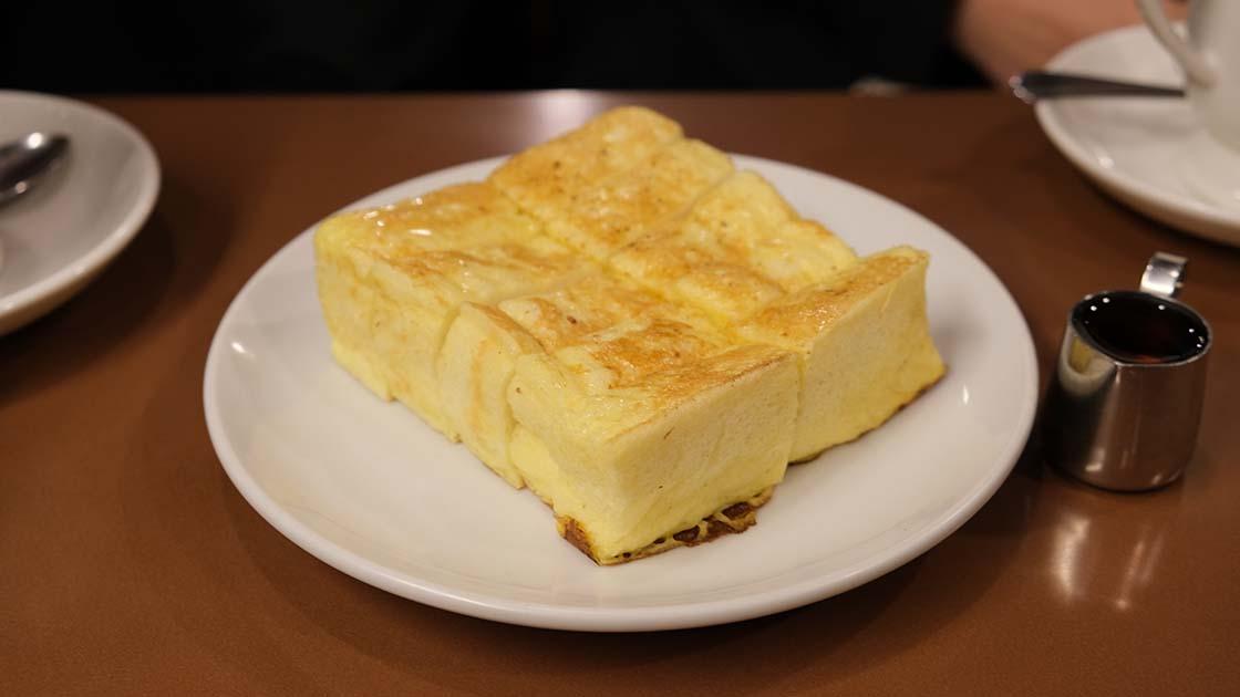 アラビヤコーヒーのフレンチトースト