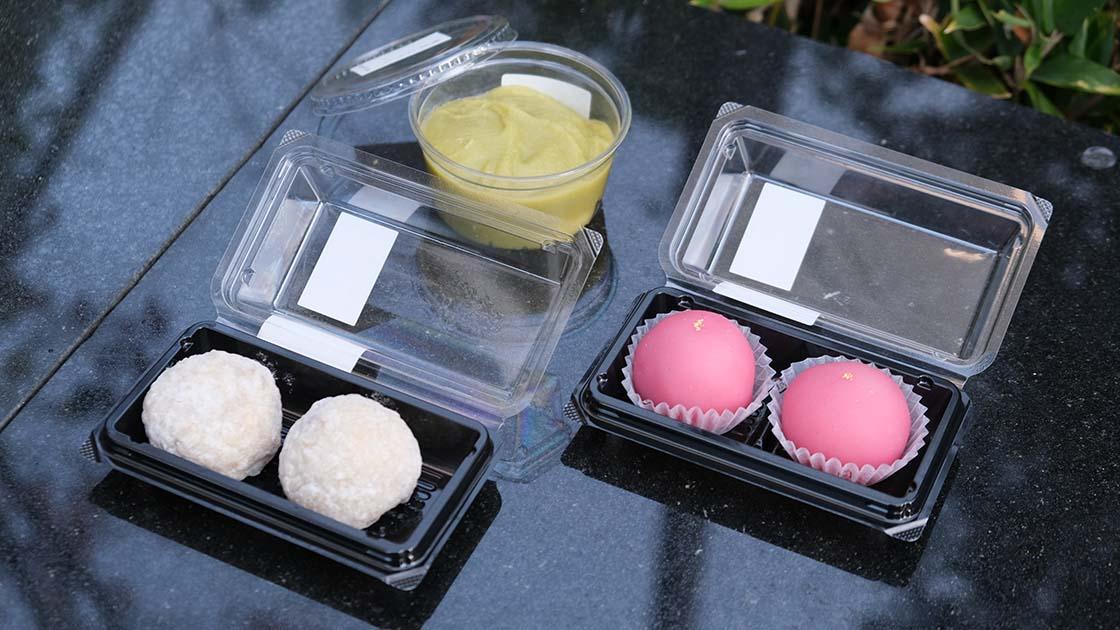 「餅匠 しづく」の和菓子