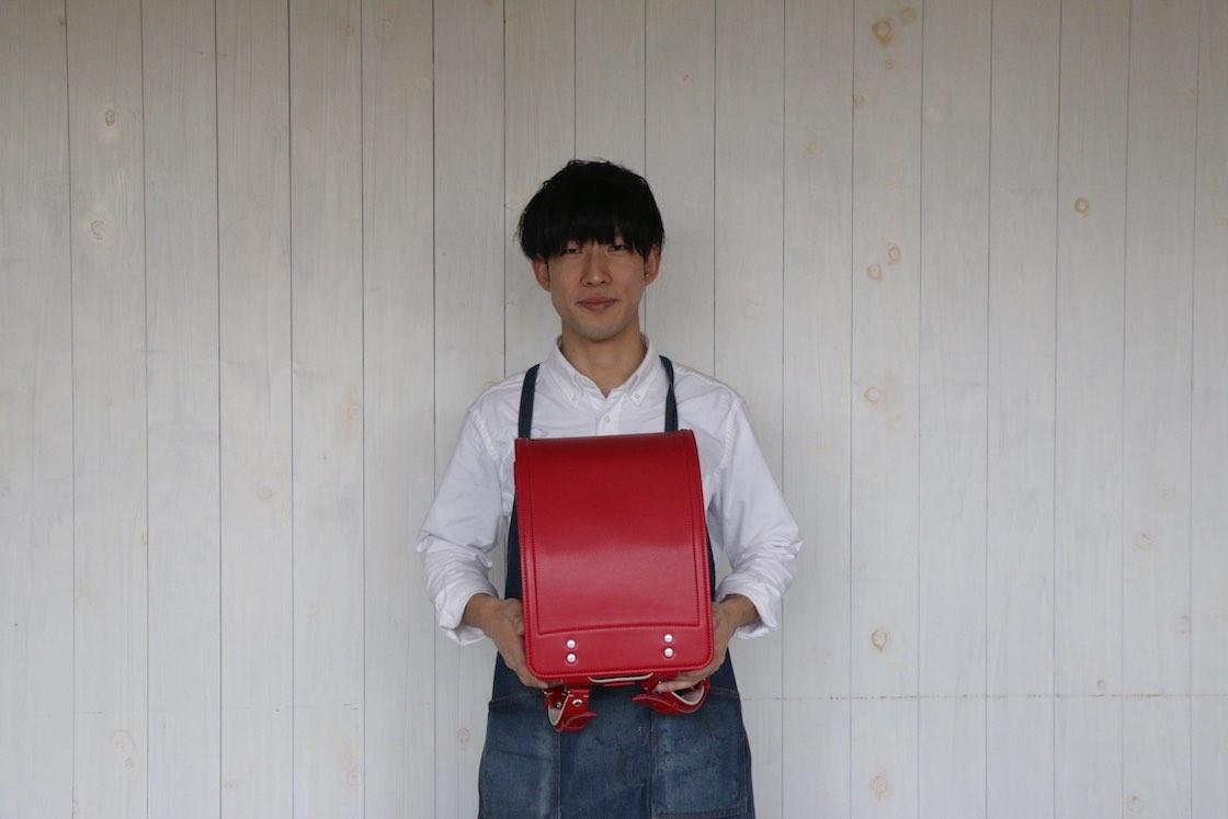 自転車旅がきっかけで鞄職人になった竹田さん