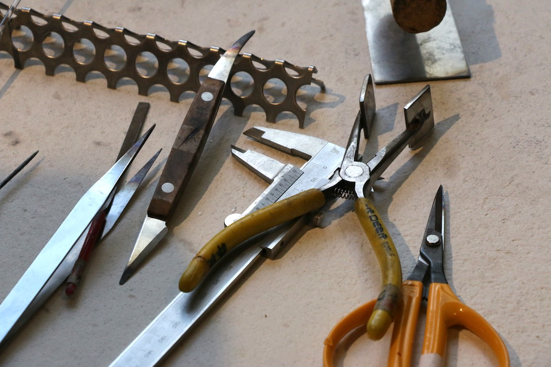 使用している道具たち