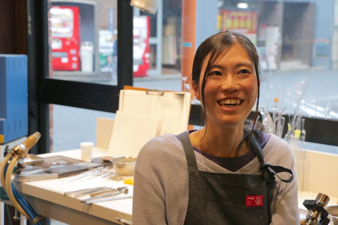 入社して3年目の藤枝奈々さん