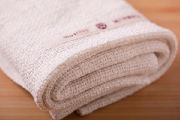 和紡布のタオル