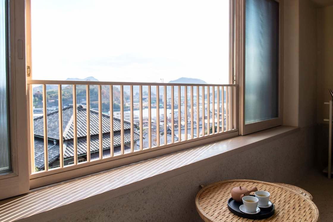 客室から見える風景