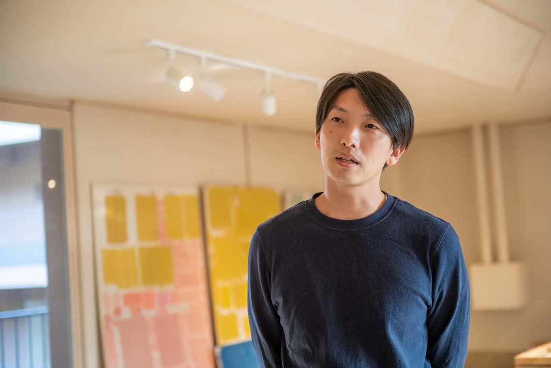 LOG支配人の吉田挙誠さん