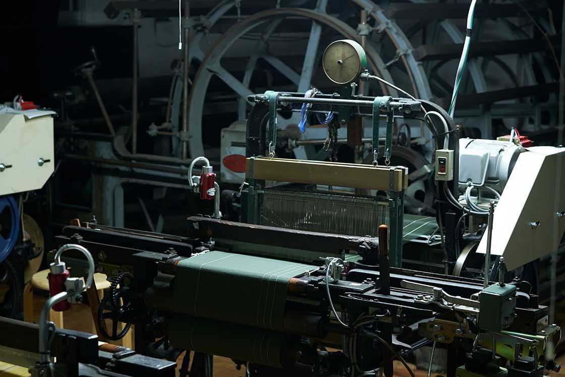 100年前に製造された「豊田式鉄製小幅動力織機(Y型)」