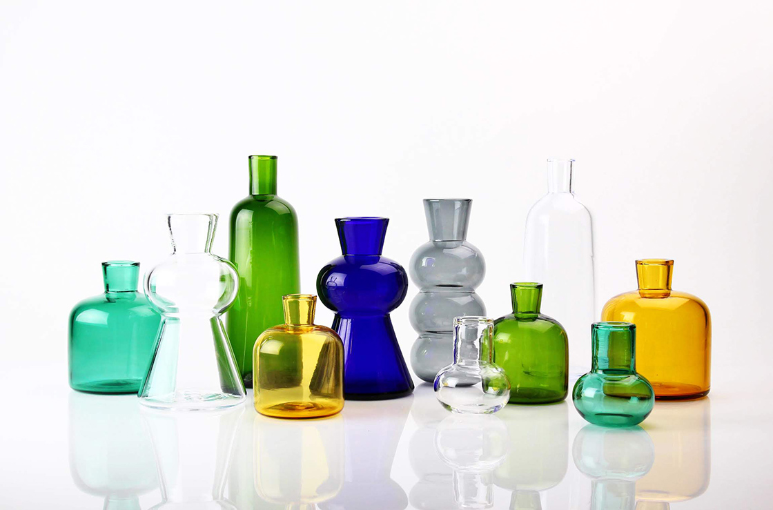 ガラス作家TOUMEI の花器