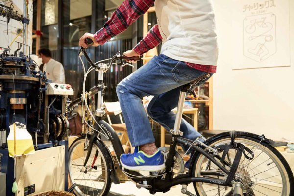 チャリックスの自転車