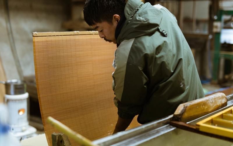佐賀の手漉き和紙 名尾和紙 kaminari works