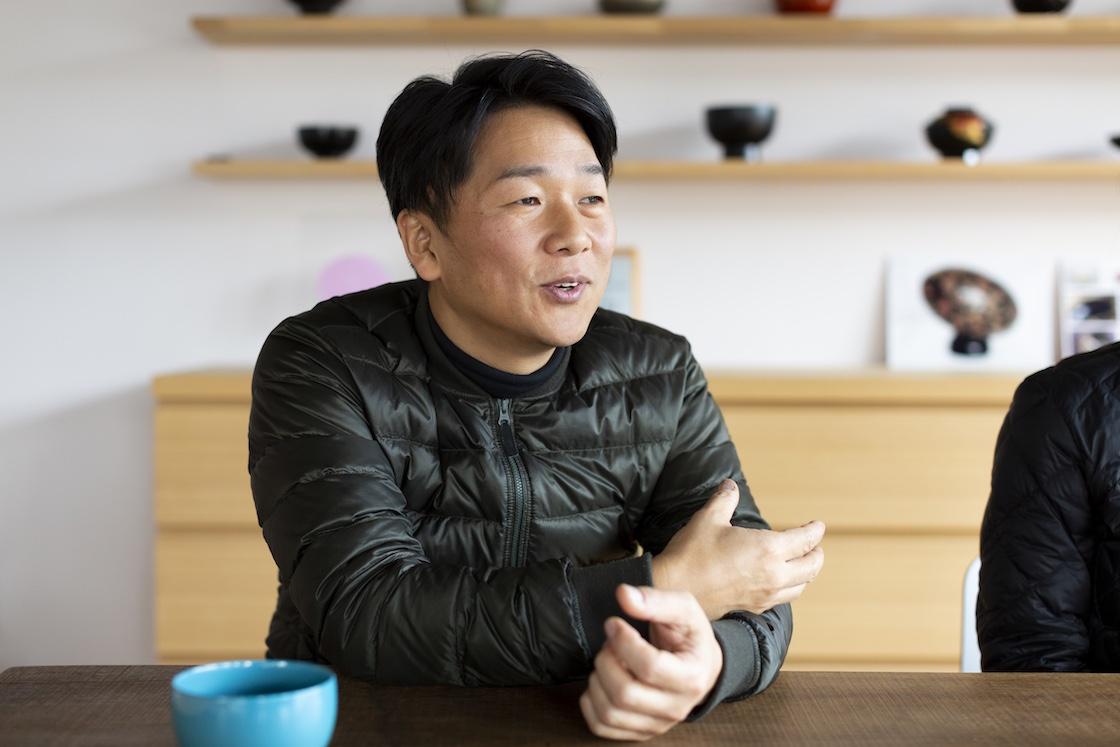 漆琳堂 代表の内田徹さん