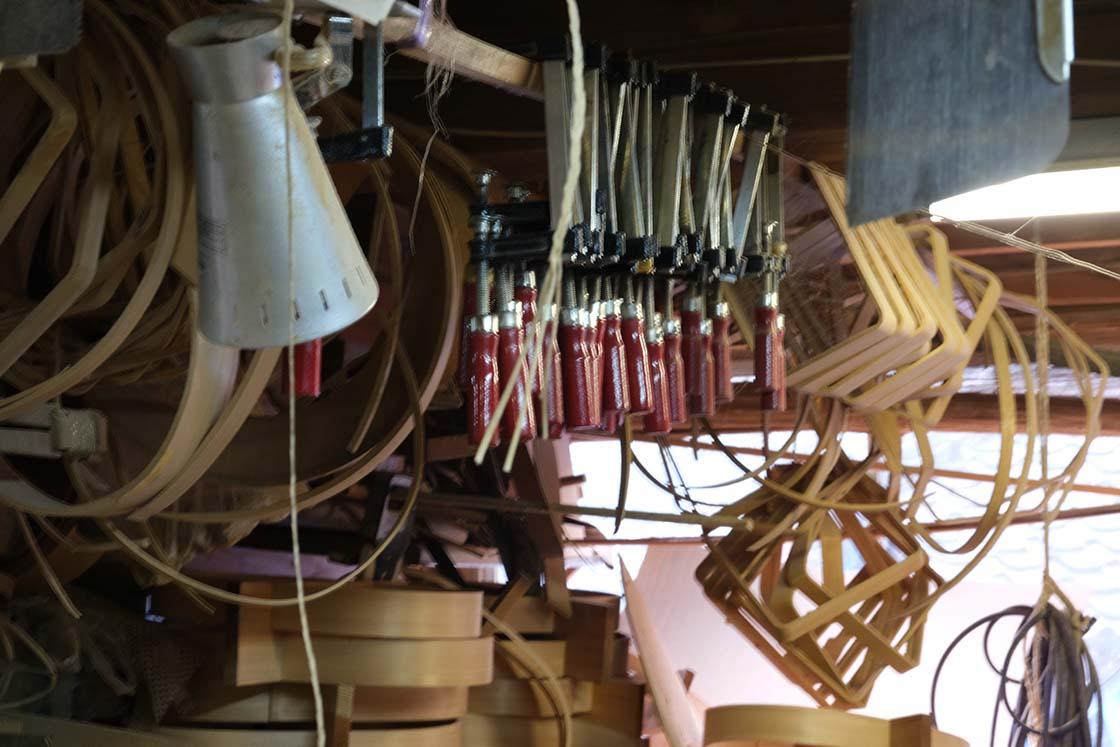 熊本・一勝地の「そそぎ工房」工房内