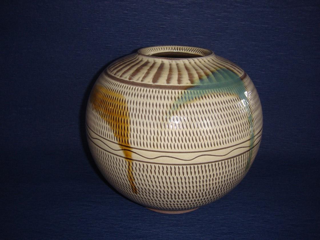 小石原焼の壺