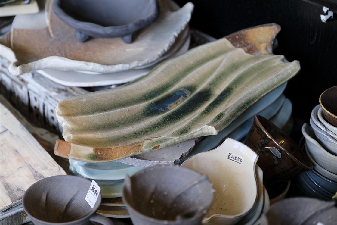 笠間焼向山窯のサンプル