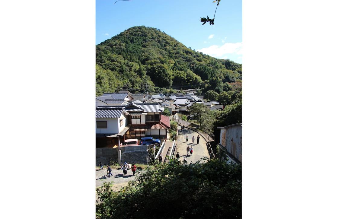 小鹿田焼の里の緑溢れる風景