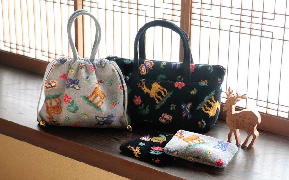 中川政七商店のテキスタイルブランド「遊 中川」35周年記念。フェイラーとコラボした6アイテムがデビュー