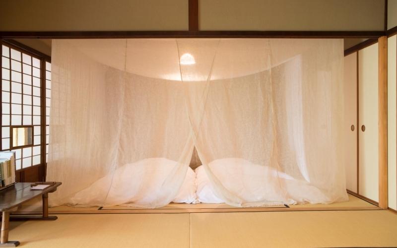 日本の蚊帳