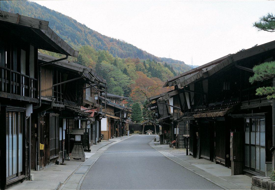 奈良井宿の風景
