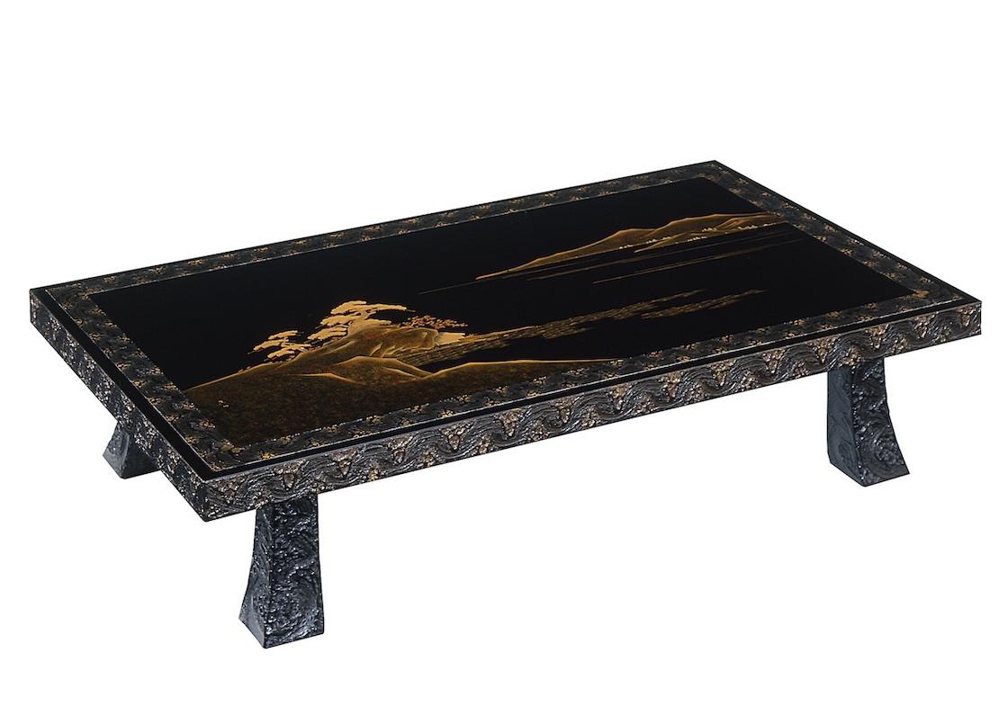 木曽漆器 座卓