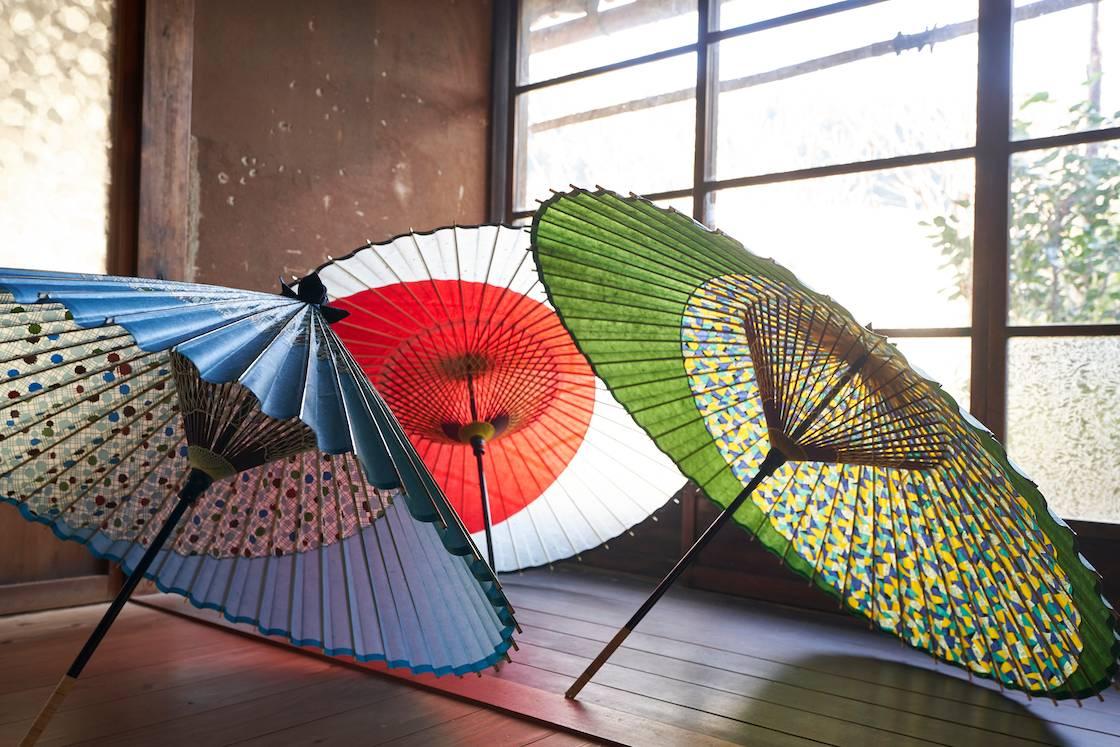 長良川てしごと町家CASAの和傘