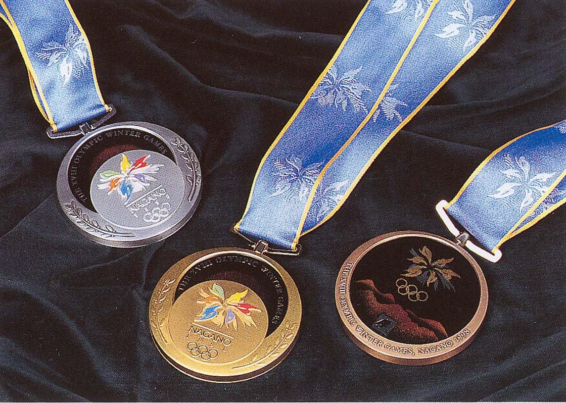 長野オリンピックのメダル