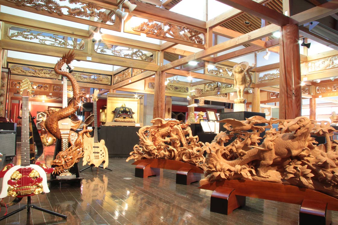 高画質会館常設展示室