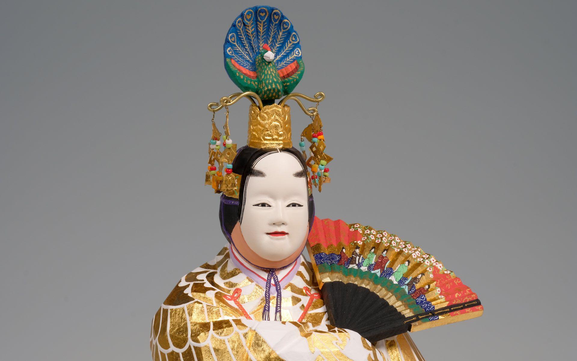 奈良一刀彫(羽衣)