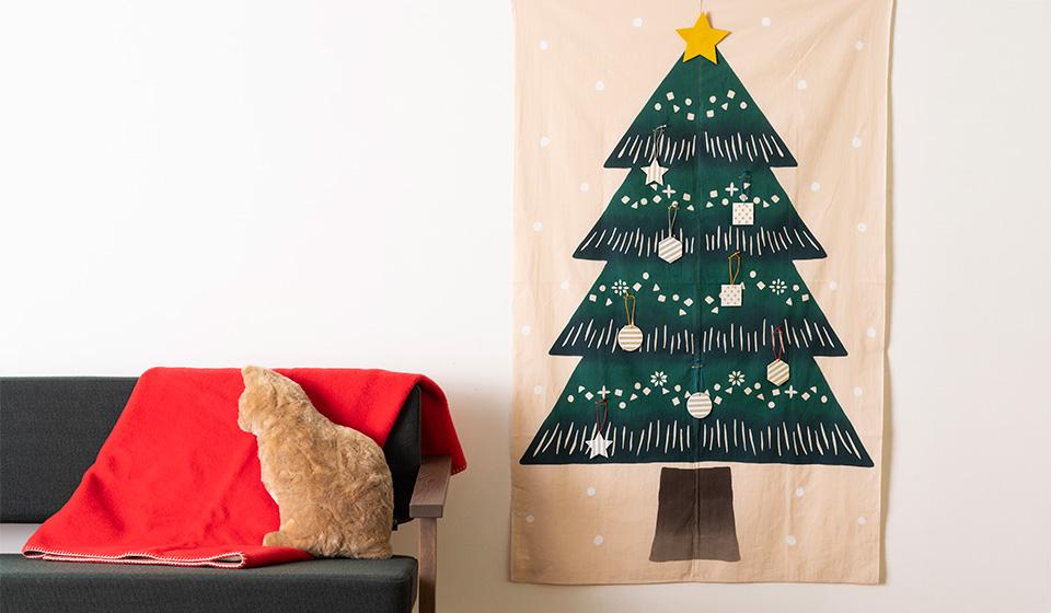 【季節のしつらい便】クリスマスをたのしむオーナメントのつくり方