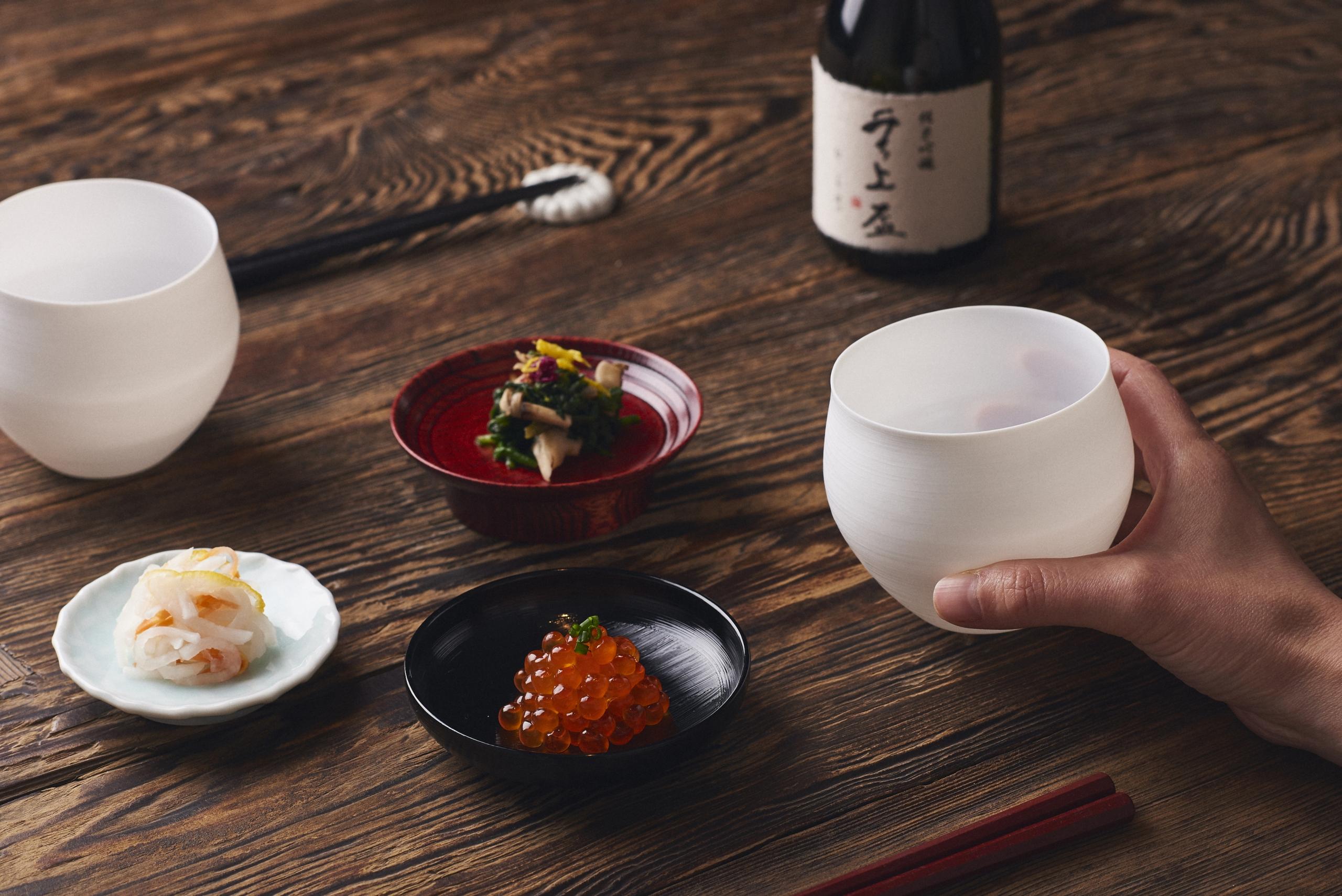 【工芸の解剖学】ワイングラスに学んだ日本酒器