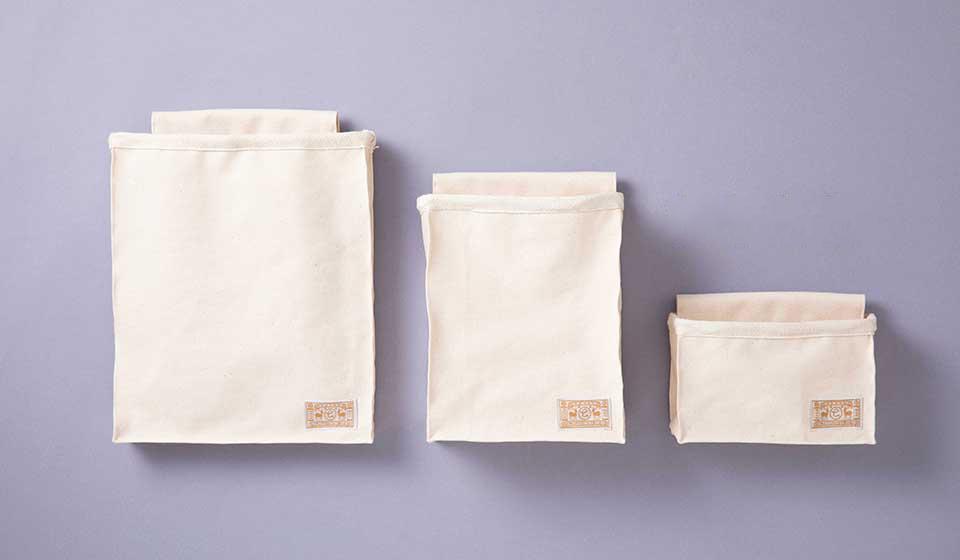 頒布の収納袋