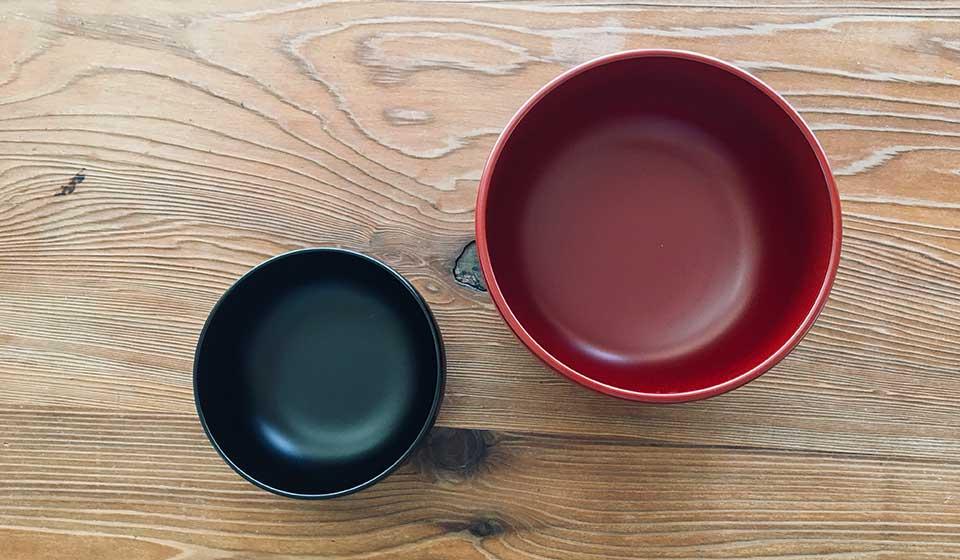 食洗機で使える漆椀