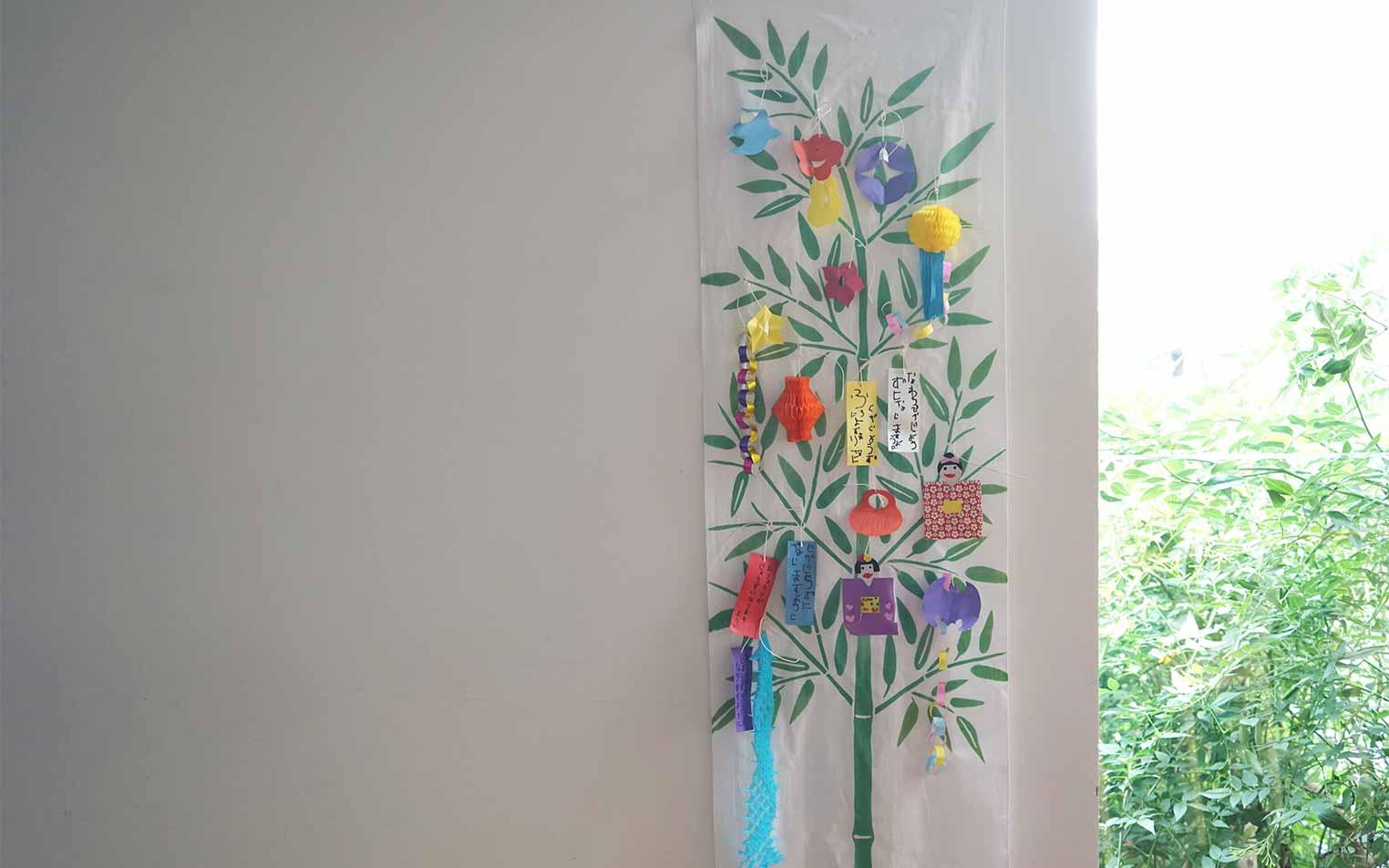 【季節のしつらい便】部屋を飾る感覚で由来も学べる七夕飾り