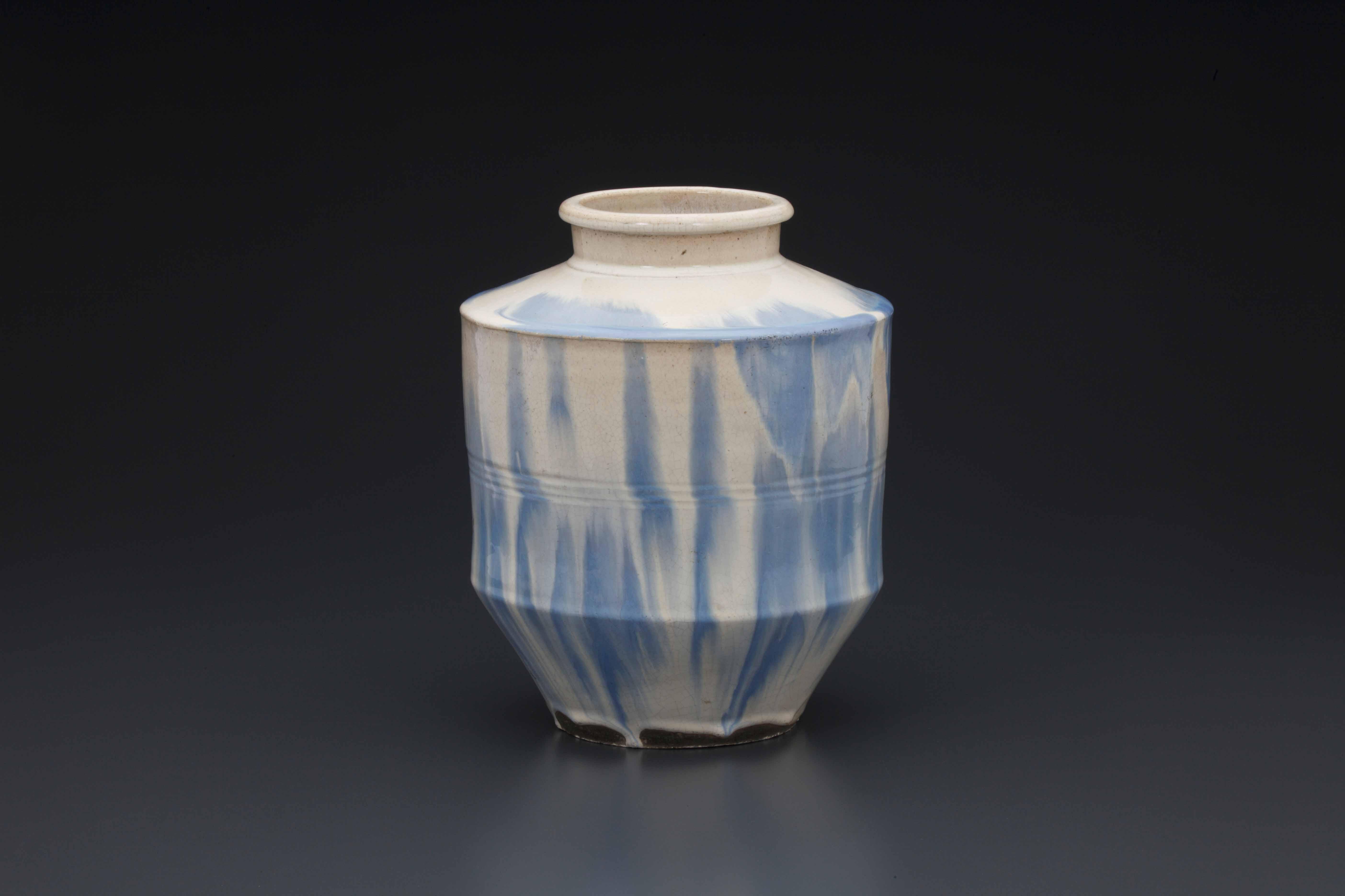 信楽焼製『掛流茶壺』