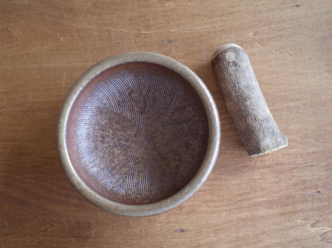 備前焼 一陽窯のすり鉢